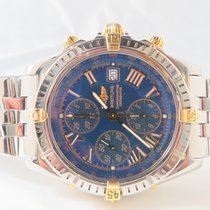 Breitling Windrider Crosswind Chronograph Steel Blue Roman Dial