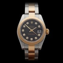 Rolex Datejust Original Diamonds Stainless Steel/18k Yellow...