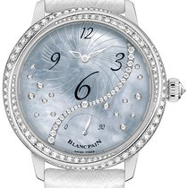 Blancpain Ladies Off Centered Hour Retrograde Seconds 3650a-35...