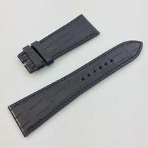 Hermès Paris Uhren Armband  Band Kroko Schwarz 23 / 17
