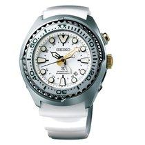 Seiko Herrenuhr Prospex Kinetic GMT Diver SUN043P1
