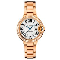 Cartier Ballon Bleu Quartz Ladies Watch Ref WE902064