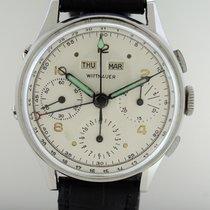 Wittnauer Watch Co.Inc. Vollkalender Valjoux 72c