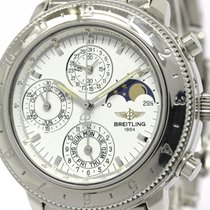 Breitling Polished Breitling Astromat Chronograph Moon Phase...