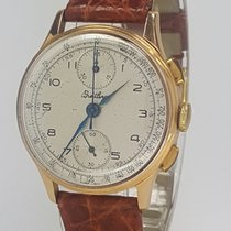 Breitling Vintage Chronograph 178 18k gold