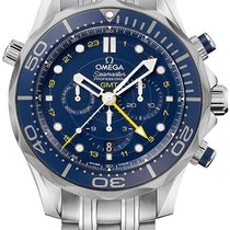 Omega SEAMASTER DIVER 300 M  GMT CHRONOGRAPH 44 MM