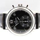 Patek Philippe Annual Calendar Platinum Chronograph Black Dial...