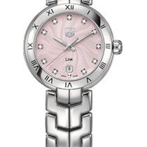 TAG Heuer Link Lady Quartz Steel Watch Roman Numeral