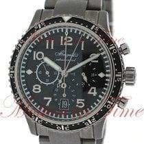 Breguet Transatlantique XXI Flyback Chronograph, Black Dial -...