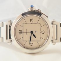 Cartier Pasha Steel 42mm/ Ref: 2730/ BOX/PAPER