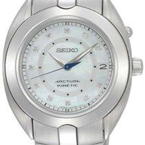 Seiko ARCTURA KINETIC SKA899P1  MOTHERPEARL - 11 DIAMONDS