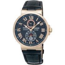 Ulysse Nardin Maxi Marine Chronometer 18K Rose Gold Men's...