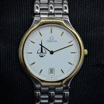 Omega DE VILLE DATE QUARTZ ADCO SYMBOL ON THE DIAL