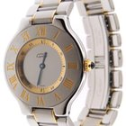 Cartier Must 21 Yellow Gold and Stainless Steel 31mm 1330 Watch
