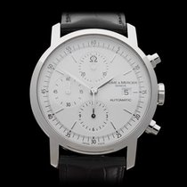 Baume & Mercier Classima Chronograph Stainless Steel Gents...