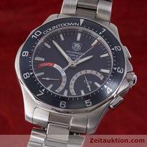 TAG Heuer Aquaracer Regatta Stahl Calibre S Chronograph Caf7111
