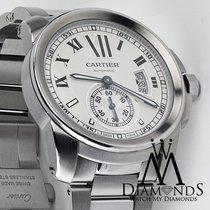 Cartier Calibre De Cartier Silver Dial Stainless Steel...
