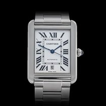 Cartier Tank Solo Stainless Steel Unisex 3515