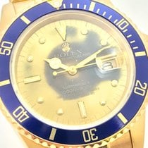 Rolex Submariner Nipple TROPICAL DIAL 18K + Revision 2015