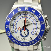 Rolex Yacht-Master II White Dial SS Automatic 44MM 116680