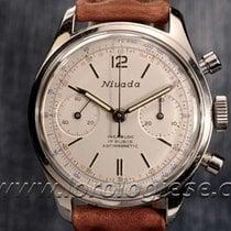 Nivada Vintage Waterproof-style Steel Chronograph