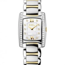 Ebel Brasilia Gold and Steel Case With Diamonds