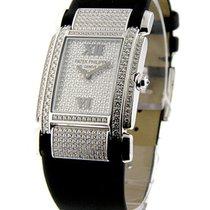 Patek Philippe 4910/G Twenty 4 with Pave Diamond Dial
