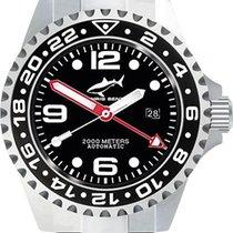 Chris Benz Deep 2000m Automatic GMT CB-2000A-D1-MB Herren...