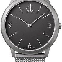 ck Calvin Klein Minimal K3M51154 Herrenarmbanduhr Klassisch...