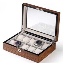 Rothenschild Uhrenbox RS-1087-10Z für 10 Uhren zebra