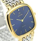 Enicar Mens Luxury Gold Plated Stainless Steel Swiss Made...