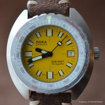 Doxa DIVINGSTAR 300T SUPER RARE YELLOW DIAL 1960's 42MM...