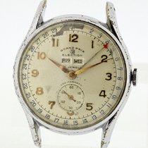 Election Grand Prix Vintage Swiss Watch Triple Calendar Cal....