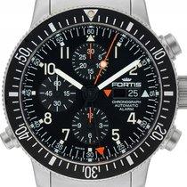 Fortis B-42 Official Cosmonauts Alarm Stahl Automatik Armband...