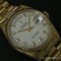 Rolex Modern: Oyster Perpetual Day-Date diamand indexes...