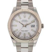Rolex Datejust II Stainless Steel & 18K White Gold 116334