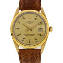 Rolex Oyster Perpetual Date Gold Shell 15505