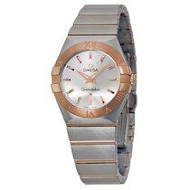 Omega Constellation Quartz Silver Dial Ladies Watch 1232027600...