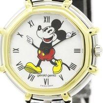 Gérald Genta Polished Gerald Genta Micky Mouse Mop 18k Gold...