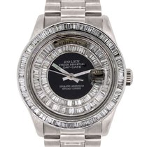 Rolex 18039 Day Date  Gold Diamond Dial Watch