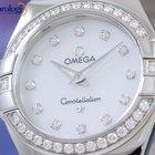 Omega Constellation Quartz 27mm Steel Diamonds Ladies Watch