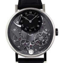 Breguet 7057BBG99W6 Tradition White Gold Grey Skeleton Dial