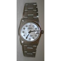Rolex Datejust 78274 Midsize Stainless Steel Oyster with 18K...