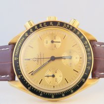 Omega Speedmaster Reduced Yellow Gold (Sapphire Caseback)