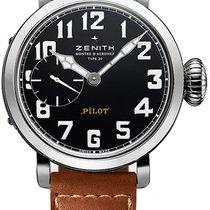 Zenith Pilot Montre d Aeronef Zenith Type 20 40mm 03.1930.681-...