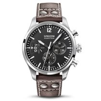 Union Glashütte Belisar Pilot Chronograph schwarz