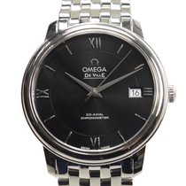 Omega De Ville Stainless Steel Black Automatic 424.10.37.20.01...