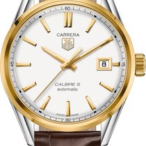 TAG Heuer Carrera Calibre 5 Automatic 39MM Silver Dial T