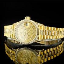 Rolex Lady Datejust (26mm) Ref.: 69158 in 18k Gelbgold mit...