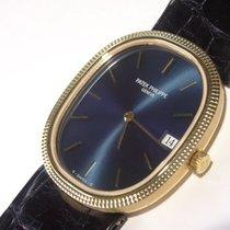 Patek Philippe 18k Gold Mens Golden Ellipse Watch Ref. 3931...